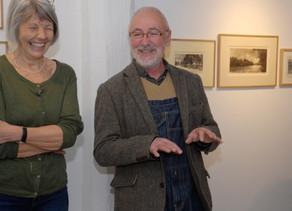 Die Ausstellung beginnt: Vernissage mit dem Walliser Künstler Pierre Yves Gabioud