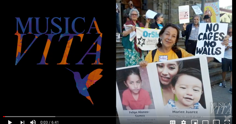 MusicaVita: No Cages, No Walls; feat: Ken Newman and Terry Wells. Video by Don Shearer / MusicaVita