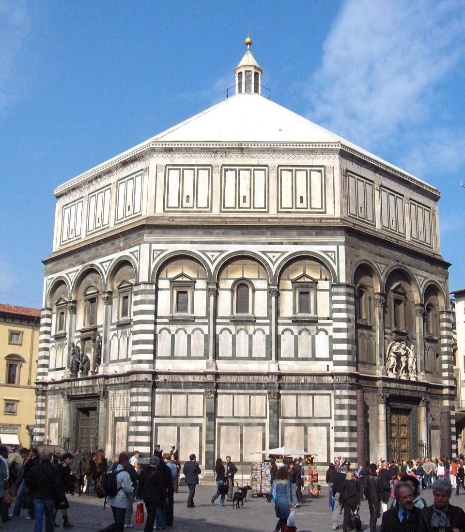 Batistério de San Giovanni em Firenze