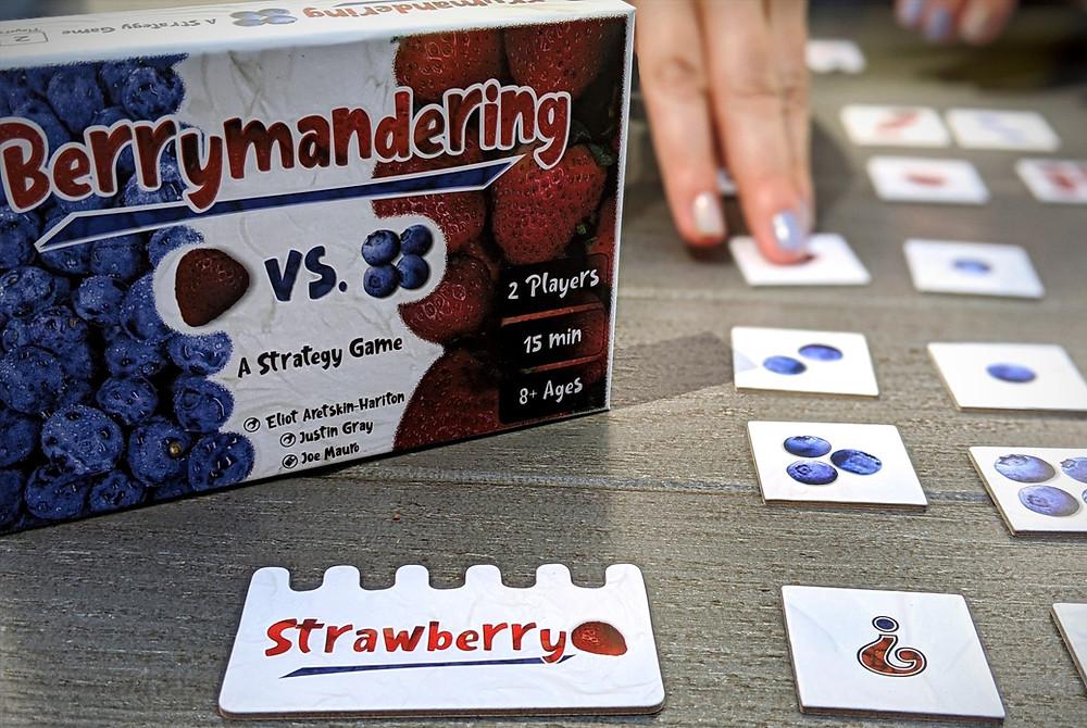 Berrymandering game