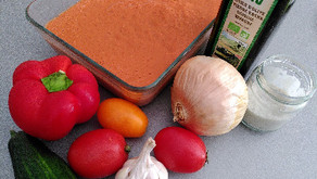 Le Gaspacho prêt en 5 minutes: une recette light et zéro-déchet, très rafraîchissante pour l'été
