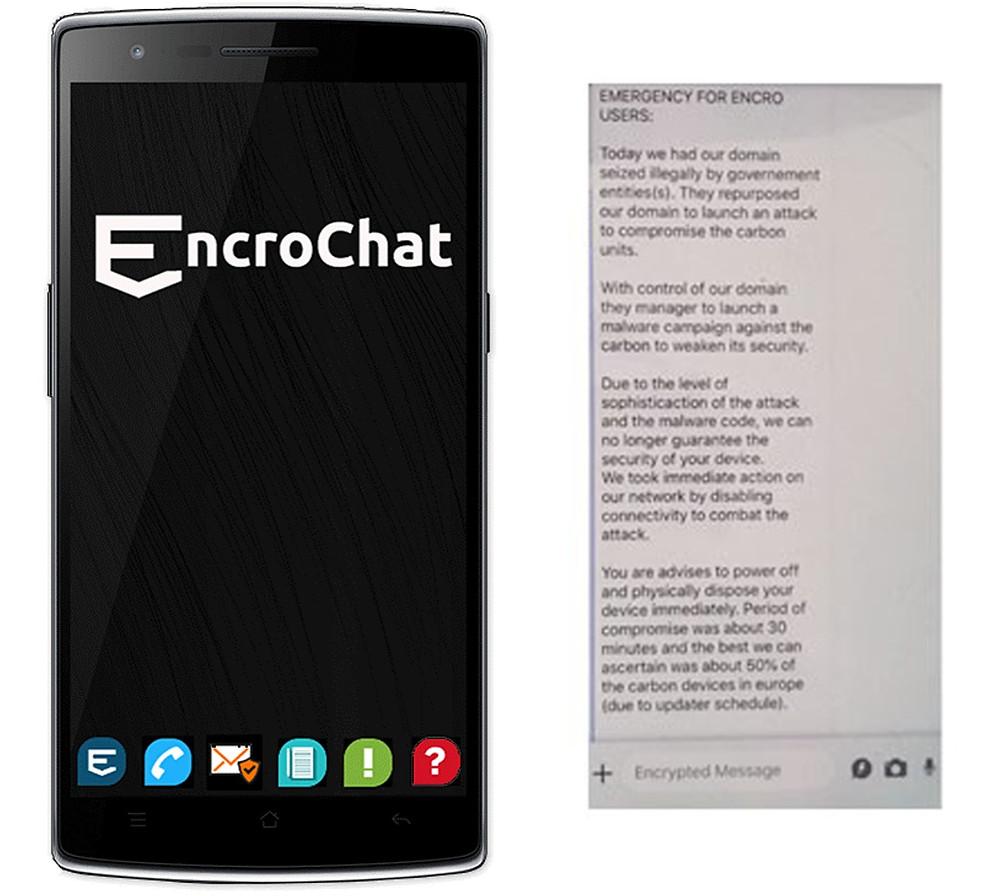 EncroChat Crime Chat group