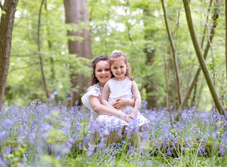 Tips for taking great photographs of your children in the bluebells