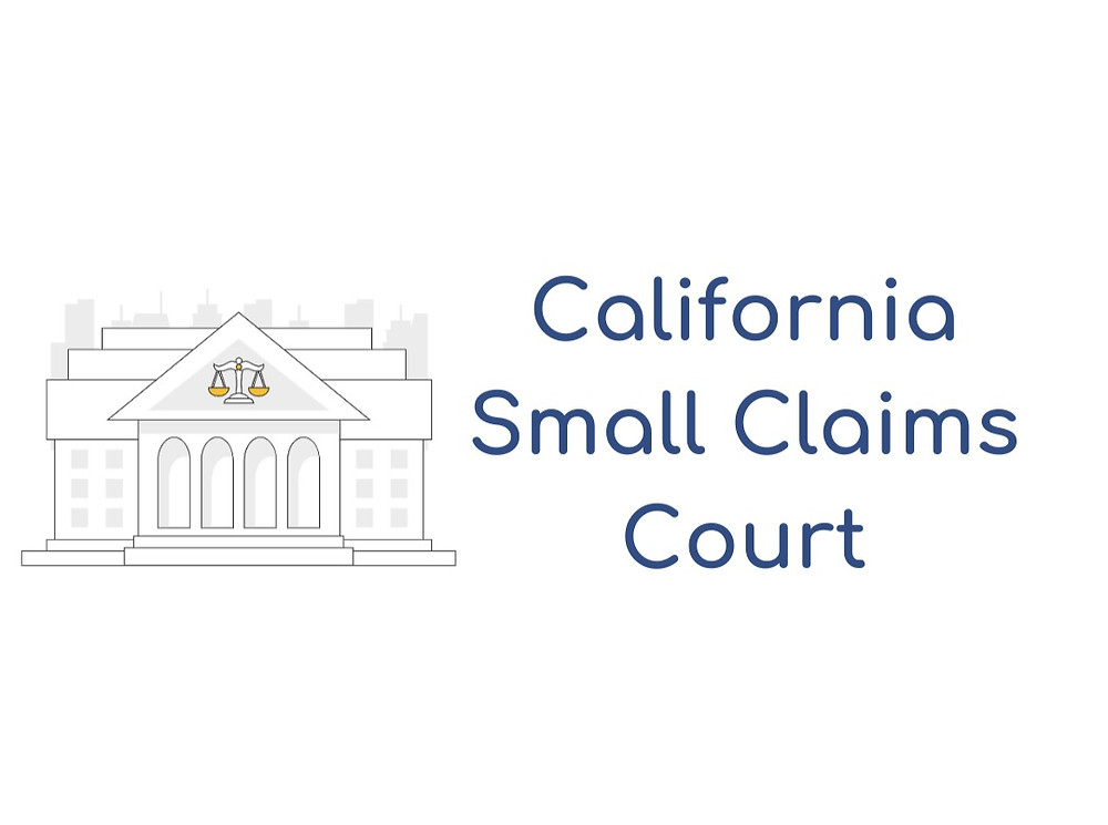 How to file a small claims lawsuit in California Small Claims Court