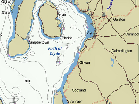 Firth of Clyde, Scotia