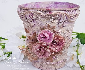 Altered Flower Vase