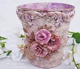 Altered Flower Vase