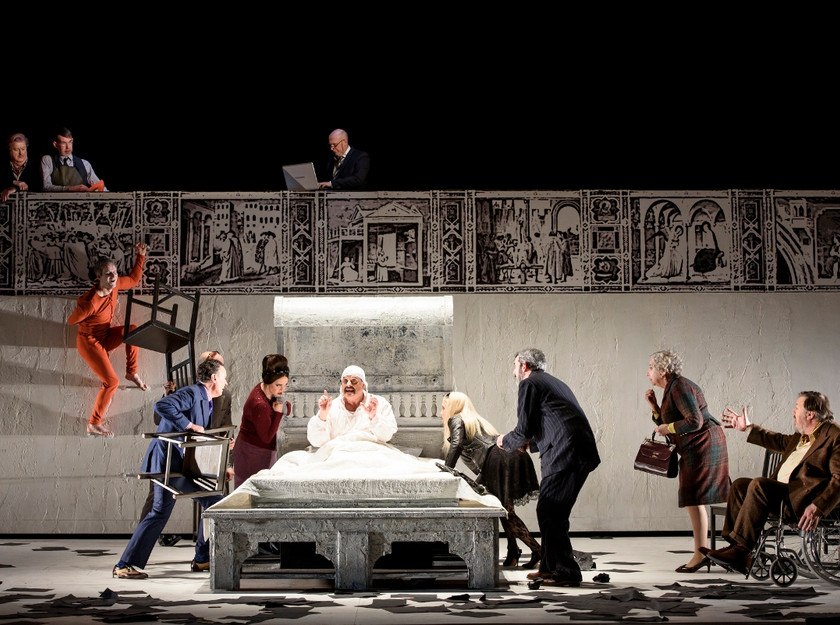 Gianni Schicchi - photo Bill Cooper