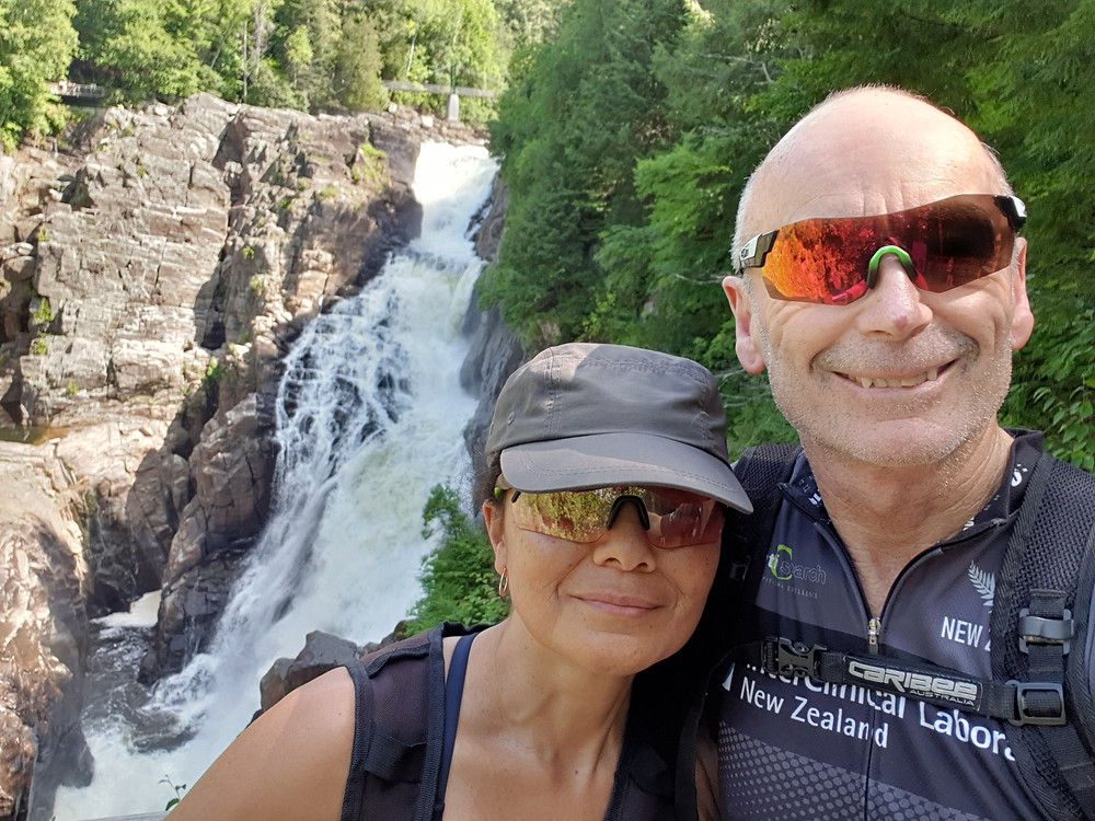 Alofa and Gary exploring Quebec, Canada.  Fit and healthy.  We do not skimp on our saturated fats.  We ignore the Health Star Rating when choosing what foods to purchase.