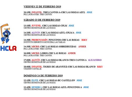 Nueve partidos en tres días en la Liga Autonómica Madrileña