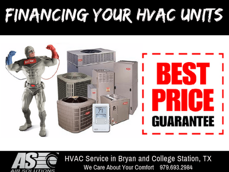 Financing Your New HVAC System
