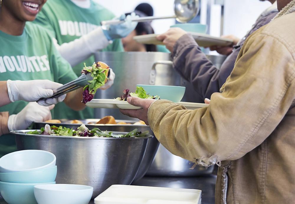 soup kitchen, volunteer