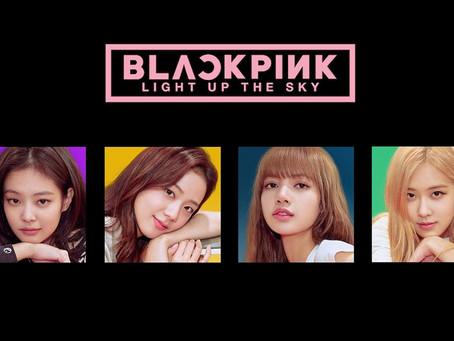 """El grupo femenino más exitoso del momento, estrena documental """"Blackpink: Light Up the Sky"""" 😍"""
