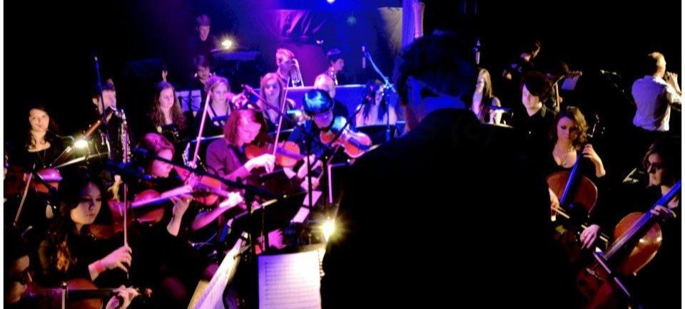 backing orchestra for Stefan Kelk in Bath