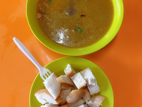 Singapore Hawker Food : Mutton Soup (Halal)