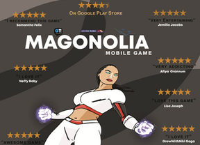 Magonolia Mobile Game Scores 4.7 Ratings on Google Play Store