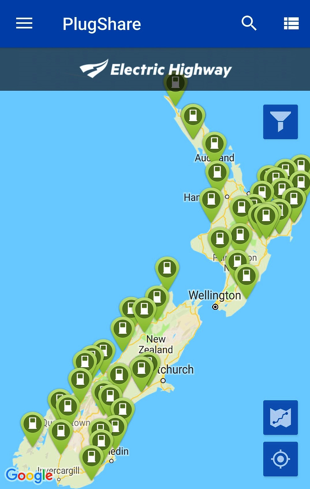 Zero Motorcycle NZ Top to bottom tour Plug share