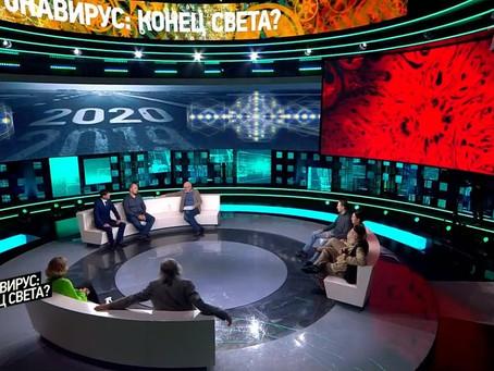 Виктор Солкин в программе Александра Гордона