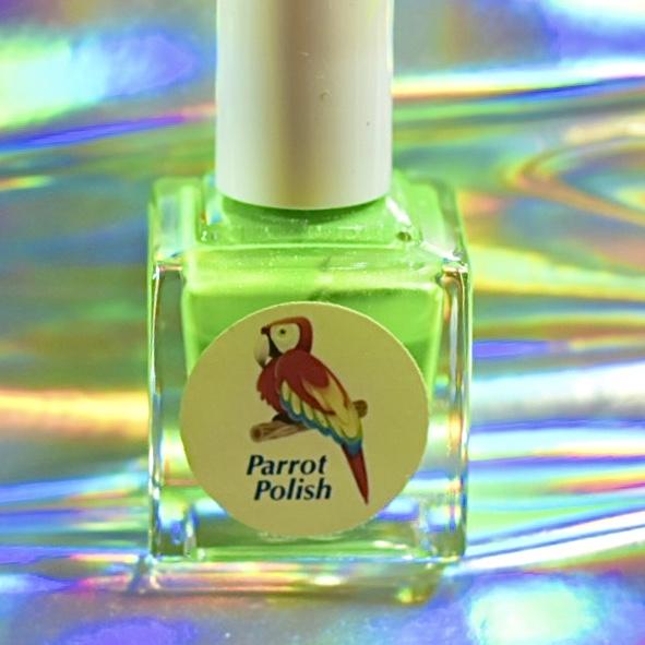 Parrot Polish Gecko Green