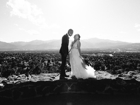 Stephanie and Sipho's Colorado Springs wedding