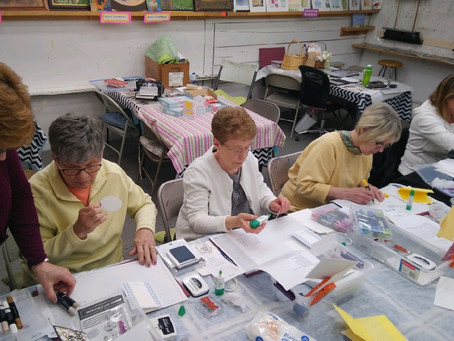 Creative Fun with the Purple Papercrafters!