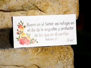 Día 56:Bueno es el Señor:Refugio en el día de angustia, y protector de quienes en él confían. Nah1:7