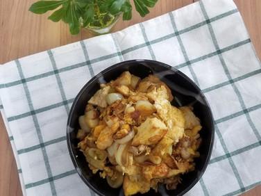 常備菜★カレー味の煎り豆腐
