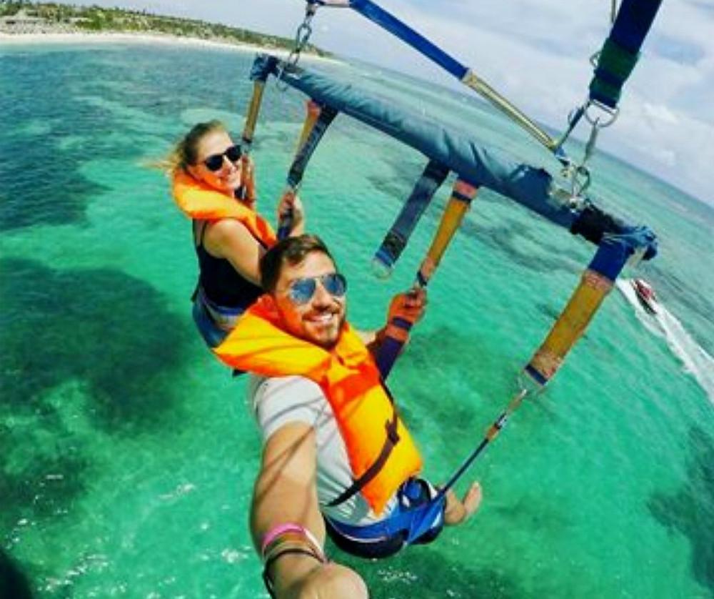 Tour Parasailing em Punta Cana