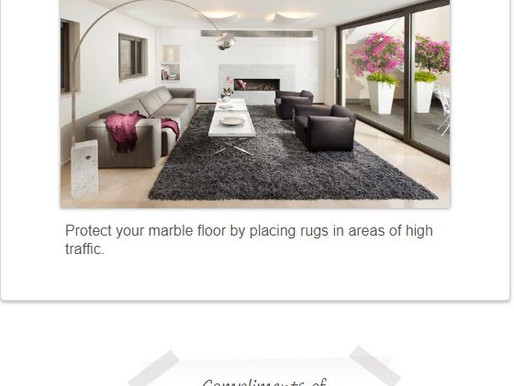 Marble Floors Suggestion
