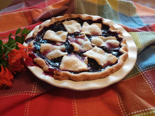Anjou Bakery's Marionberry Pie from Sunset Magazine prepared by Sandy