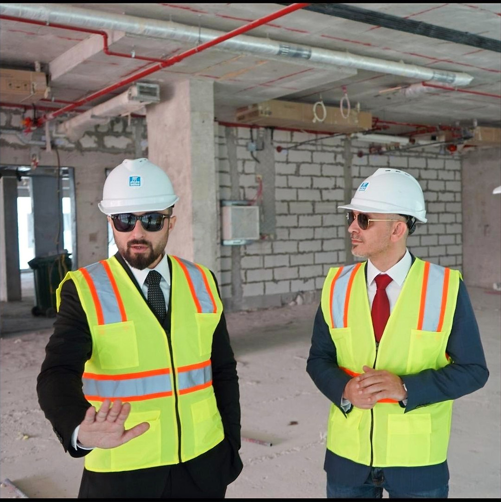 (L-R) -  Shojaa Alan Taef, Founder & CEO of Alan Group, Ahmed Abdel Qader, COO of Aitnews.com