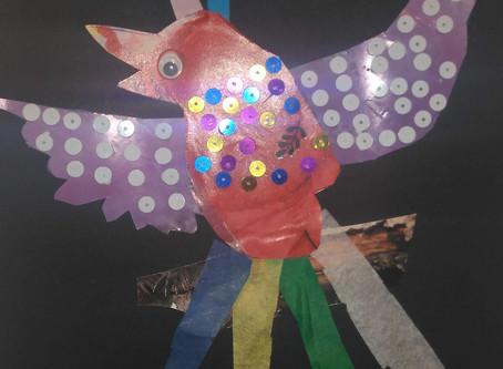 L'oiseau de paix d'Océane