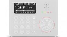 Synergya è lieta di presentare la nuova tastiera EL.MO. : AURA, LA TASTIERA ANTINTRUSIONE TOUCH OLED