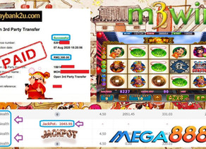 God of wealth slot game tips to win RM2300 in Mega888