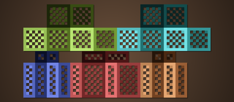 Minecraft Armor Template