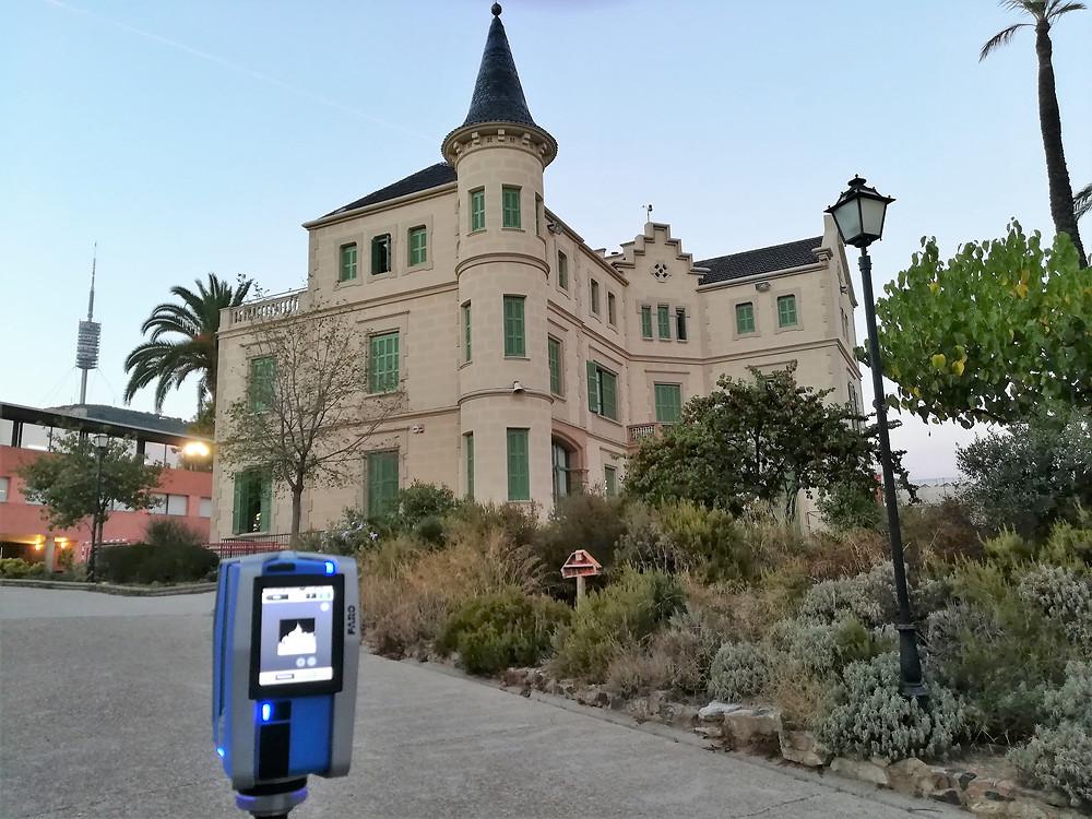 Trabajos de escaneo láser 3D - Digitalización patrimonio