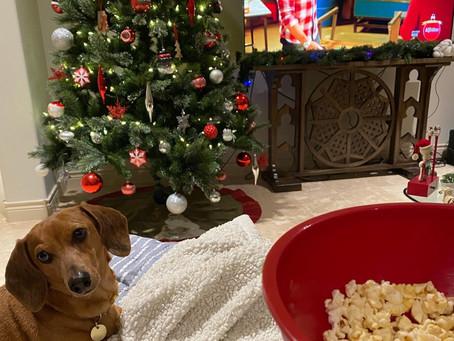 Cheesy Christmas Movie Time