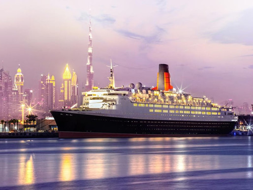 Majesty's Performances On The QE2 In Dubai.