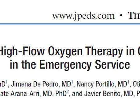 High-Flow Oxygen Therapy in Children with Asthma in the Emergency Department