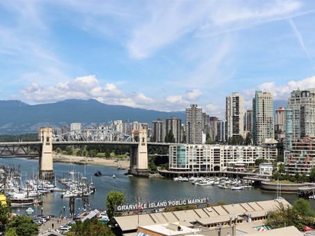 Vancouver - óceánparton, esőerdők szélén
