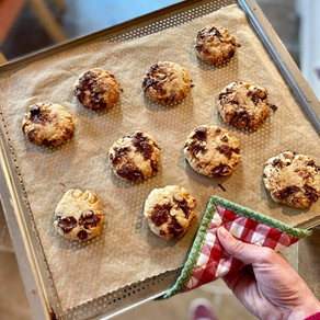 Cookie choco-amandes