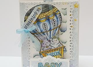 Slide & Pop Baby Balloon