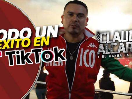 Claudio Alcaraz un éxito en TikTok