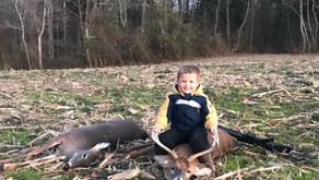Ty Dodson shoots first buck