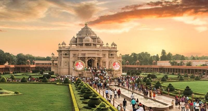 Brixel Architecture Gandhinagar Gujarat Akshardham Temple India