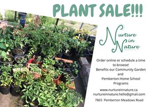 Plant Sale!!
