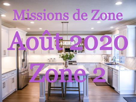 Zones : Missions semaine 33 - Zone 2