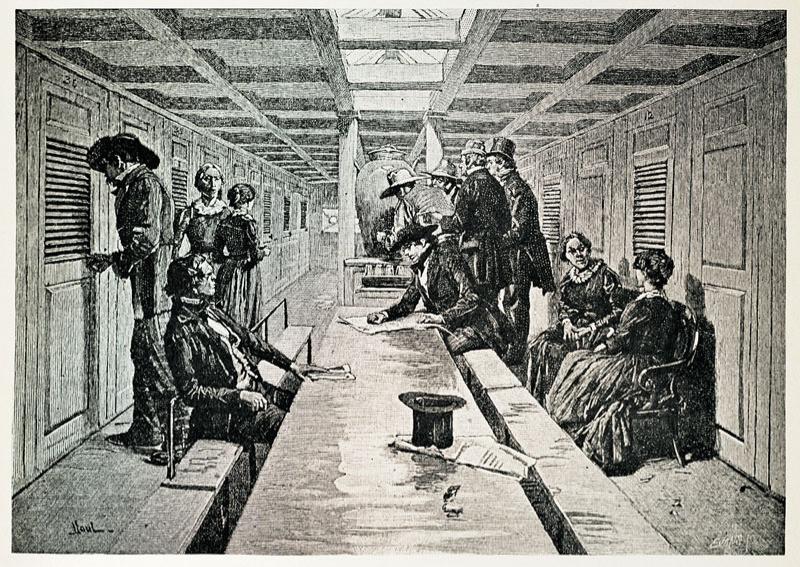 Main Saloon 1845