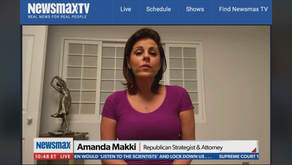 Amanda Makki joins Newsmax's Emma Rechenberg on 'National Report' 10/19/2020