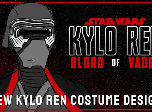 FIRST LOOK: Kylo Ren's New Costume in Kylo Ren: Blood of vader